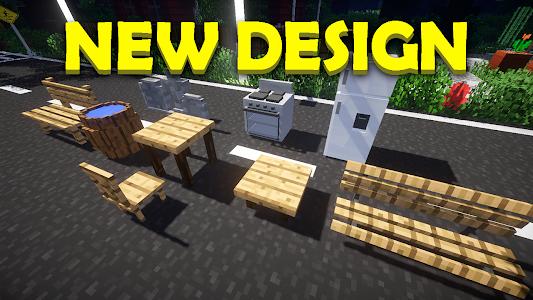 furniture mod for minecraft pe 1.0.6
