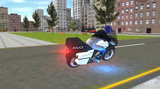 Real Police Motorbike Simulator 2020 1.7 screenshots 8