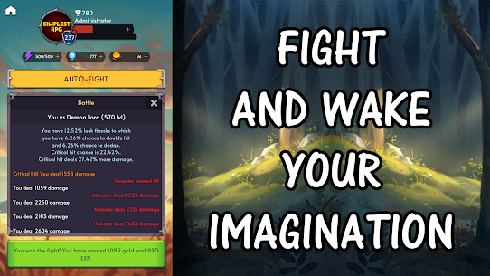 Simplest RPG Game – Online Edition Mod Apk 2.0.3 (Free Shopping) 6