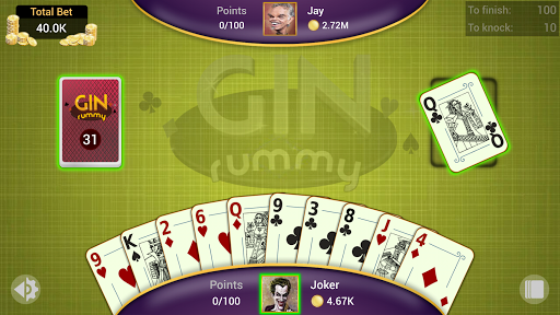 Gin Rummy - Offline Free Card Games apkpoly screenshots 6