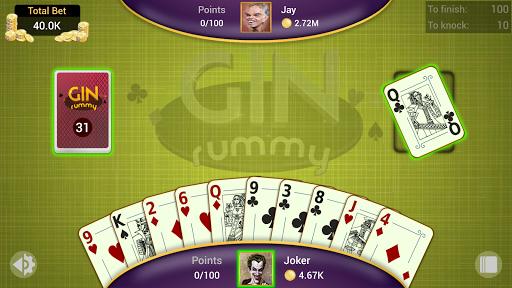 Gin Rummy - Offline Free Card Games 1.4.1 Screenshots 6