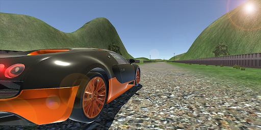 veyron drift simulator: car games racing 3d-city screenshot 1