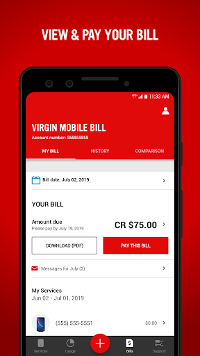 Virgin Mobile My Account 7.4.0 screenshots 3