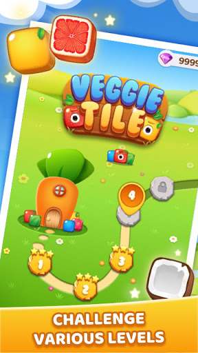 Veggie Tile: Match Puzzle  screenshots 2