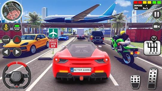Kent sürme okul simülatör araba otopark Apk İndir 3