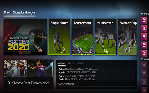 Dream Champions League 2021 Soccer Real Football 1.0.1 Screenshots 1