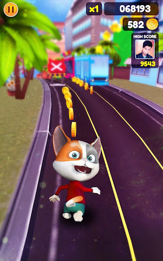 Cat Run Simulator 3D : Design Home screenshots 3