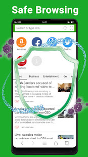 Web Browser - Fast, Private & News screenshots 5