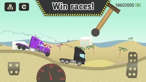 truck transport 2.0 - trucks race screenshot 1