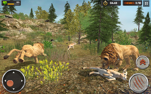 Lion Simulator - Wildlife Animal Hunting Game 2021 1.2.5 screenshots 4