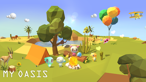My Oasis : Calming and Relaxing Idle Game  screenshots 4