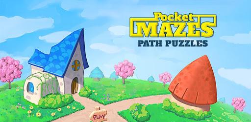 Screenshot of Pocket Mazes Path Puzzles