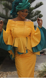Senegalese Skirt and  Blouse