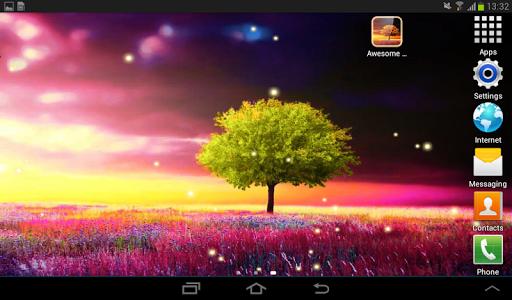 Awesome-Land Live wallpaper HD : Grow more trees screenshots 23