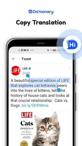 Hi Dictionary - Bilingual dictionary apktram screenshots 7