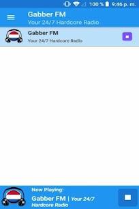 Gabber FM App Radio NL Free Online 1.2 Download APK Mod 1