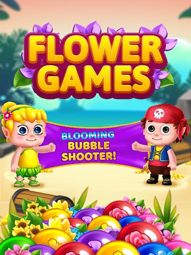 Flower Games - Bubble Shooter 4.2 screenshots 24