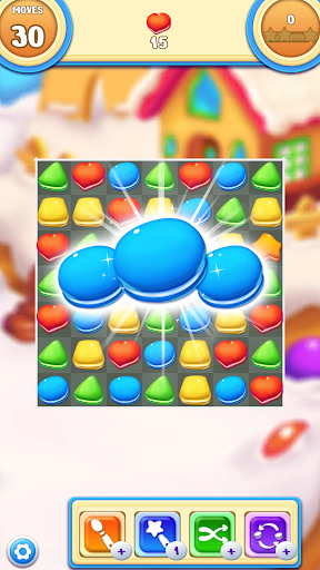 Cookie Macaron Pop : Sweet Match 3 Puzzle 1.5.4 screenshots 1