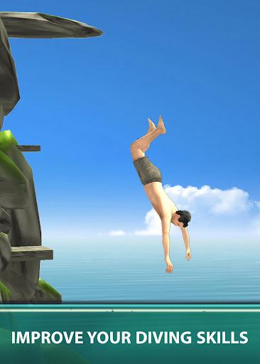 Cliff Flip Diving 3D - Swimming Pool Flip Master screenshots 3
