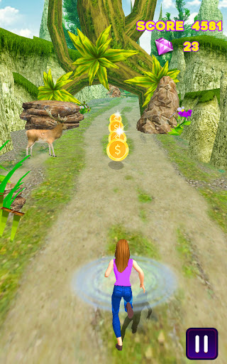 Royal Princess Running Game - Jungle Run 2.4 screenshots 2