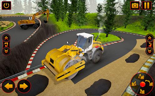 Road Construction Simulator - Road Builder Games  Screenshots 1