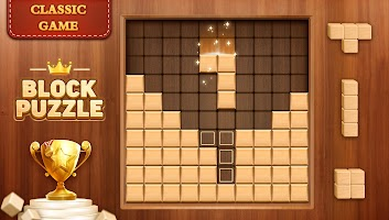 Wood Block Crush - Wooden Puzzle