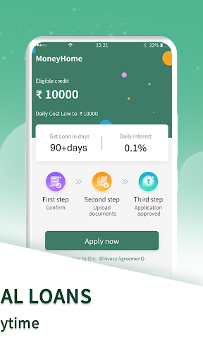 Moneyhome- Personal Loan Online  screenshots 2