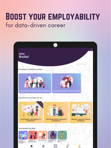 Konsciously: Data, Dev, Tech, Communication Skills  screenshots 9
