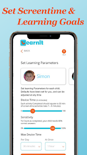 LearnIt - Screen Time Parental Control Screenshot