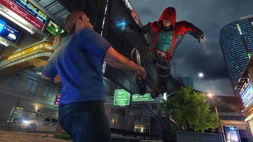 Incredible SuperHero Games : Crime City Gangster screenshots 1
