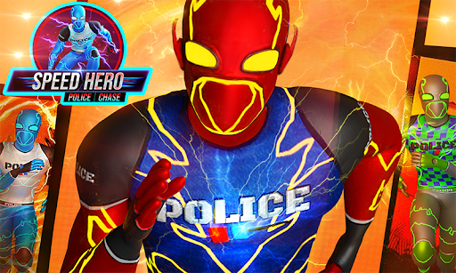 Top Speed Hero Police Robot Cop Gangster Crime apkpoly screenshots 2