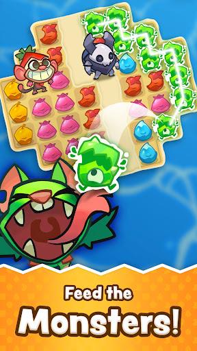 Matchfruit Monsters - Match Puzzle Adventure! screenshots 1