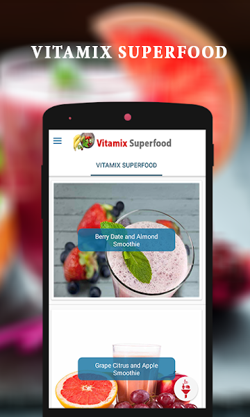 Vitamix Superfood Smoothie Recipes