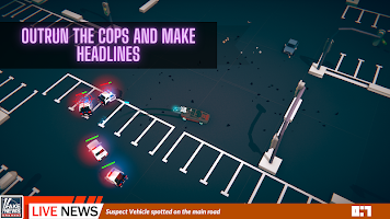 Road Rage Forever - Drifting Police Car Chase Game