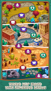 Jewels fantasy:  Easy and funny puzzle game Screenshot