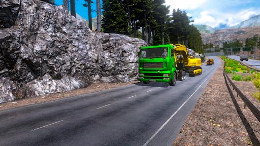 Euro truck simulator 2021: New truck driving games  screenshots 3
