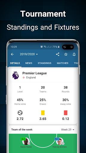 Footba11 - Soccer Live Scores  Screenshots 4