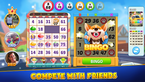 Bingo Town - Free Bingo Online&Town-building Game 1.8.3.2223 screenshots 1