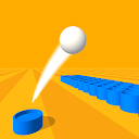 Basket throw: cup pong ball game. Toss & dunk it!