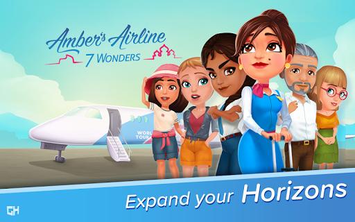 Amber's Airline - 7 Wonders u2708ufe0f  screenshots 1
