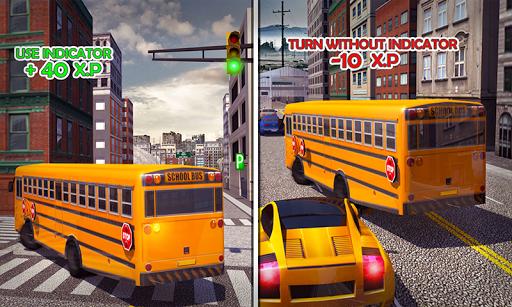 Coach Bus Simulator - City Bus Driving School Test 2.1 screenshots 7
