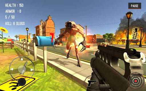 Monster Killing City Shooting III Trigger Strike 1.0.1 screenshots 4