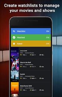 CineTrak: Your Movie and TV Show Diary Screenshot