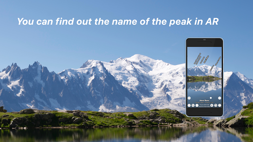 AR Map World Peaks  - 400,000 peaks in the world -  screenshots 1