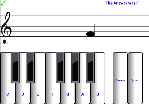 (light) learn sight read music notes piano tutor 7.0.3 screenshots 1