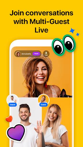 Hakuna: Live Stream, Meet and Chat, Make Friends apktram screenshots 3
