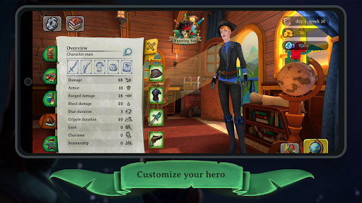 Elly and the Ruby Atlas u2013 FREE Pirate Games  screenshots 4