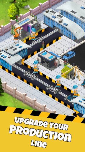 Idle Car Factory: Car Builder, Tycoon Games 2021ud83dude93  screenshots 4