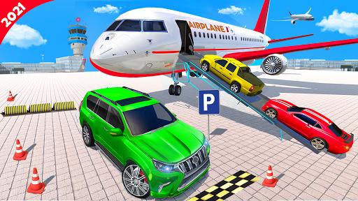 Airplane Car Parking Game: Prado Car Driving Games 2.0 screenshots 1