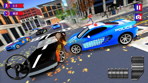 Police Cop Chase Racing: City Crime apkdebit screenshots 3